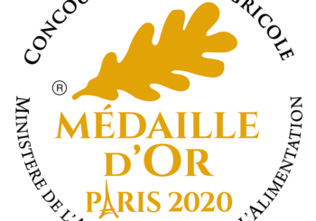 Médaille d'Or – Paris 2020