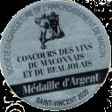 Médaille d'Argent 2020
